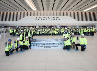 Manchester Airports T2 Extension Handover from Laing ORourke 2