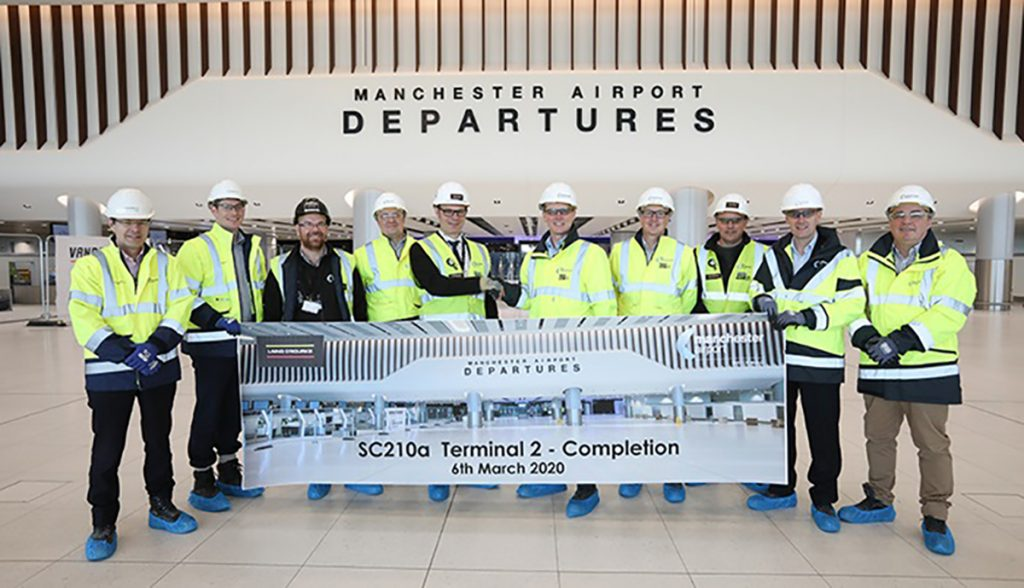 Manchester Airports T2 Extension Handover from Laing ORourke 1