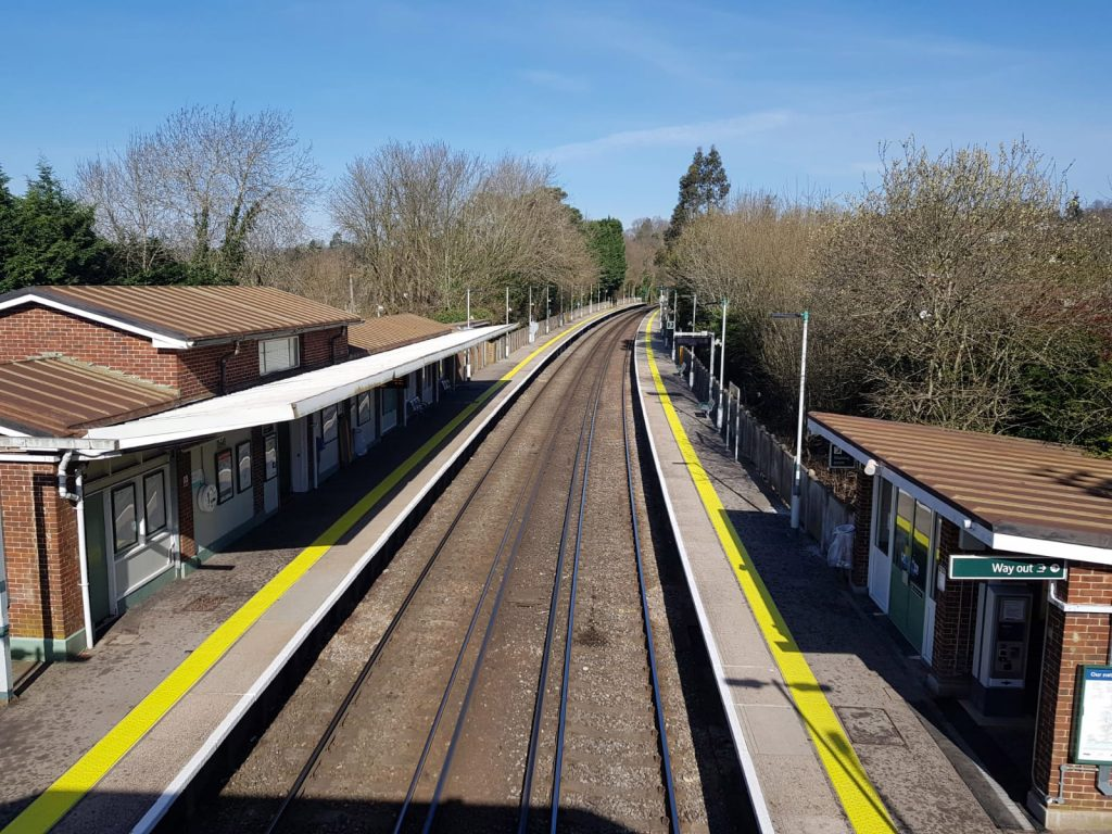 Hurst Green station 2