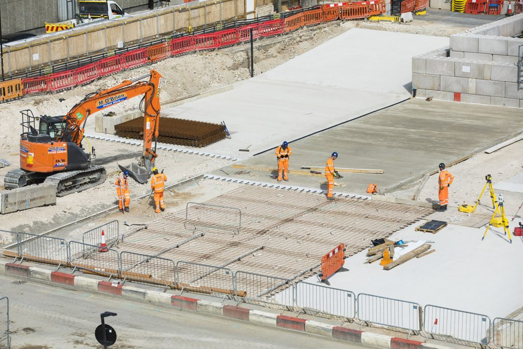 HS2 uses new pioneering low carbon concrete to reduce carbon emissions in construction
