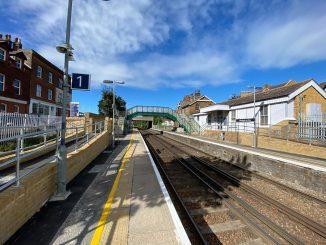 Westgate-on-Sea Station footbridge