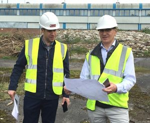 Tom Sheppard (L) and Jeremy Drew (R) of Newland Homes
