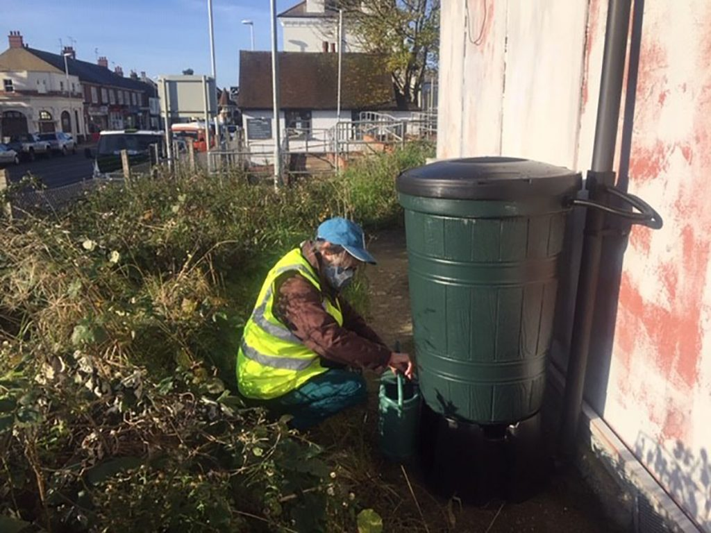 West Worthing Waterbutt - Rainwater Recycling
