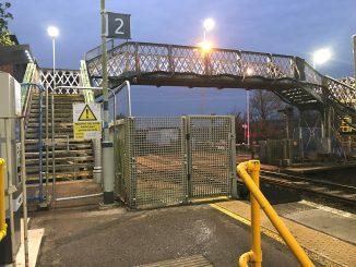 Goring-by-Sea - footbridge