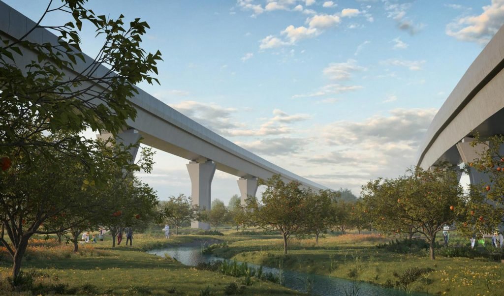 New designs of HS2's viaducts at Water Orton revealed