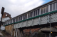 Footbridge at Caterham station