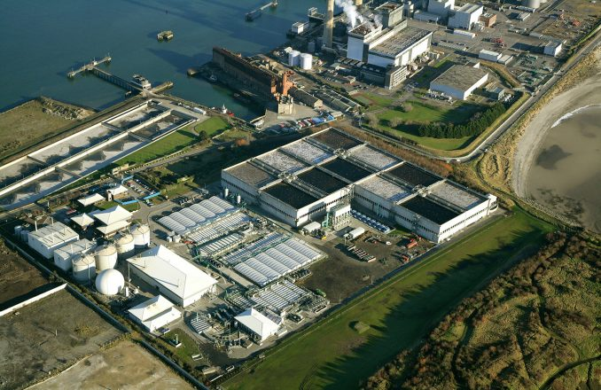 Ringsend WWTP before commencement of upgrade works