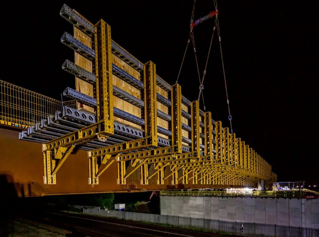 Cleaveland Bridge Construction