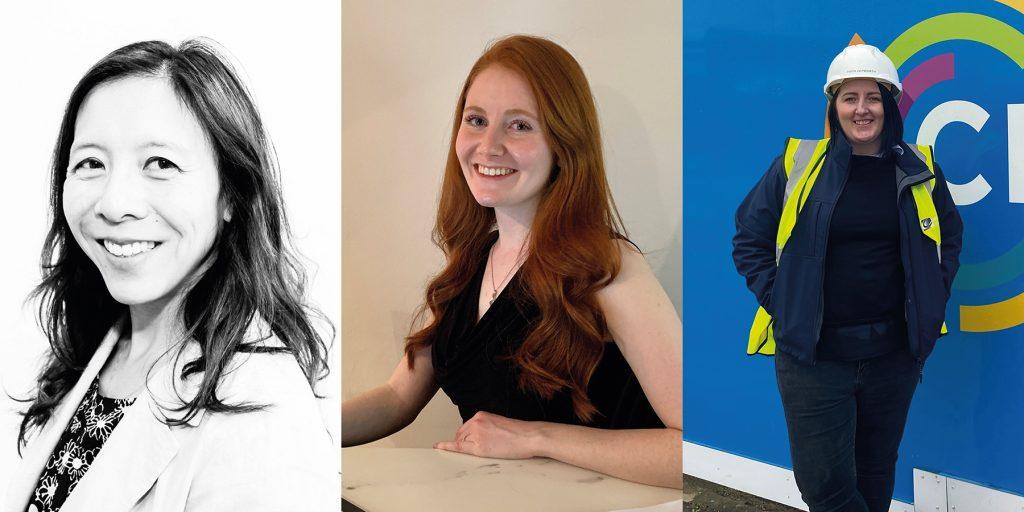 L-R: Bronwen Lohlun, Roxy Allen and Pippa Hepworth