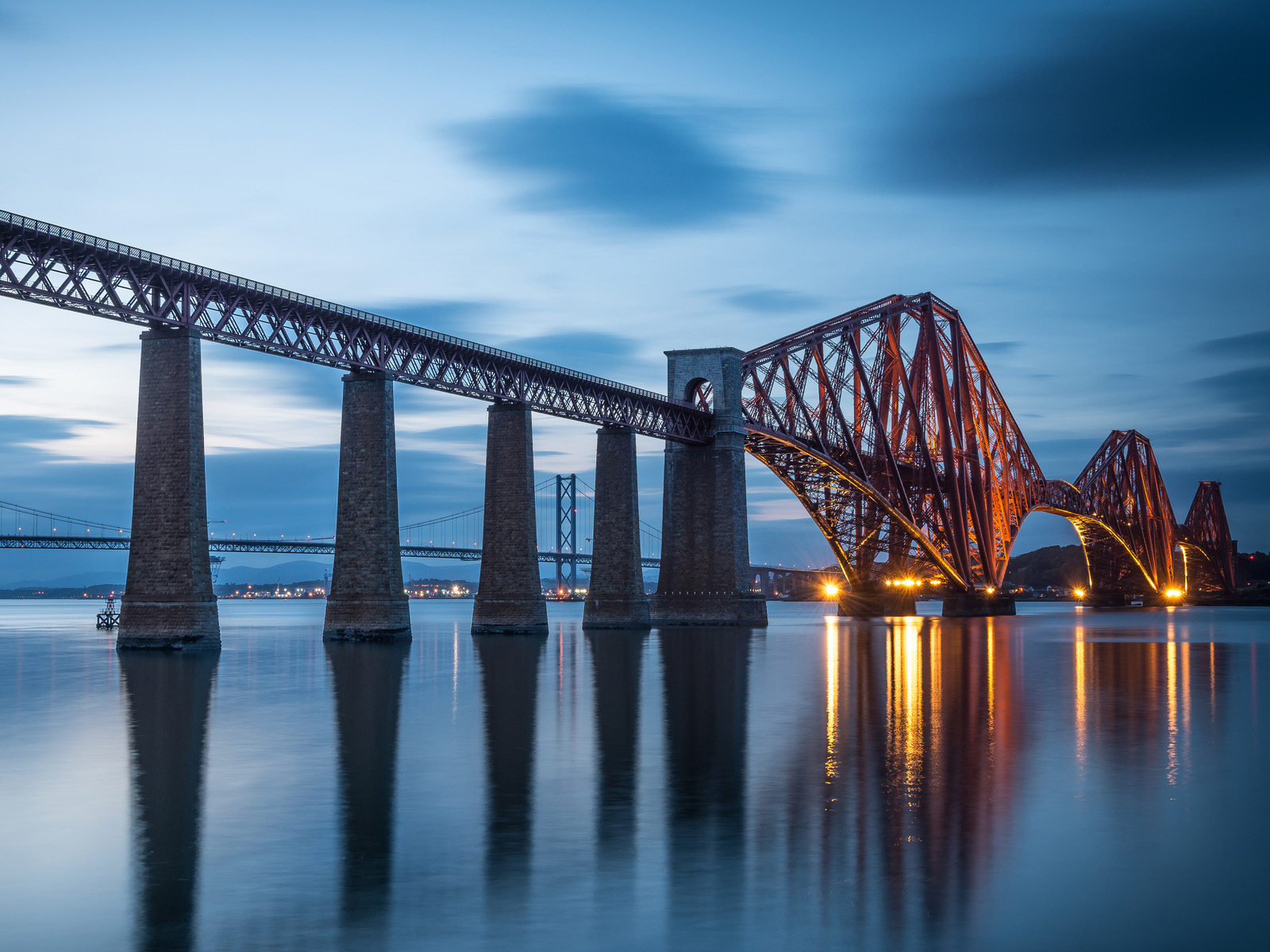 The Forth Bridge, Edinburgh