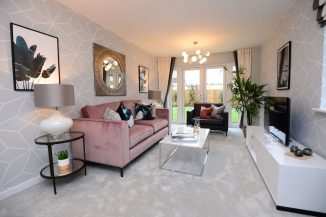 A typical Bellway Northern Home Counties interior