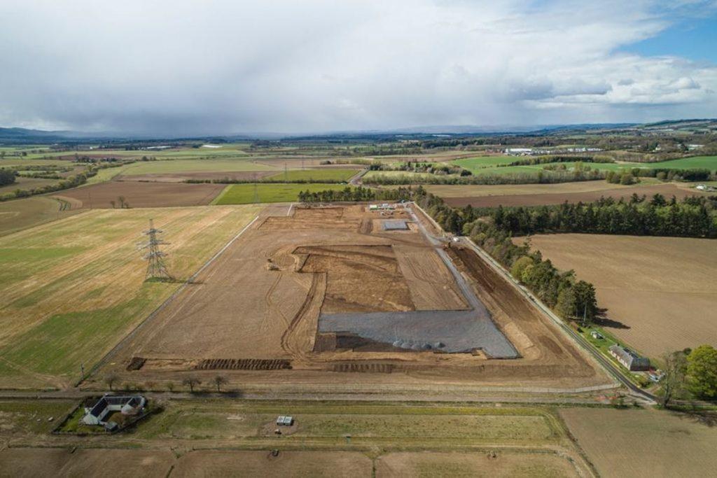 Alyth substation gets underway