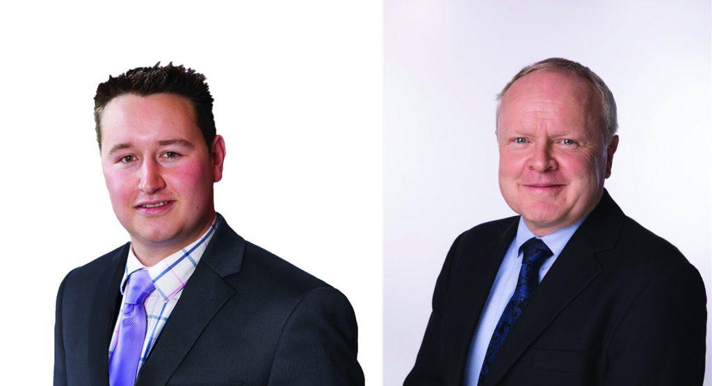 Carter Jonas Partners Charles Hardcastle and Dermot Scanlon
