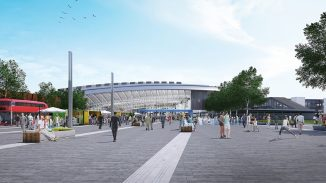 Construction of HS2's Old Oak Common station will soon be underway as work to install the first permanent structure starts later today
