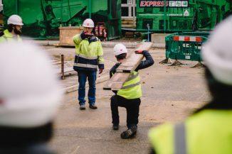 On site training The Skills Centre (pre covid) 1800